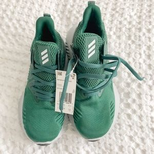 Adidas Alphabounce Shoes in Green